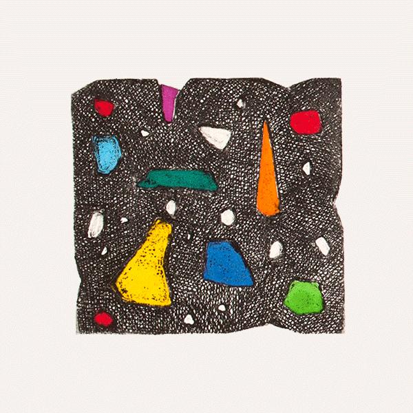 Nuits - Transformations, eaux-fortes, 25,5 x 28,5cm